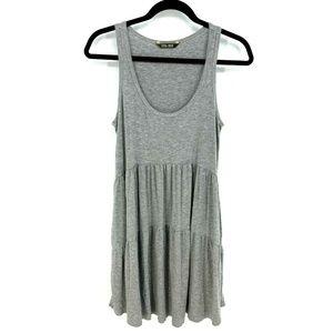 Peyton Jensen Scoop Neck Sleeveless Ruffle Dress